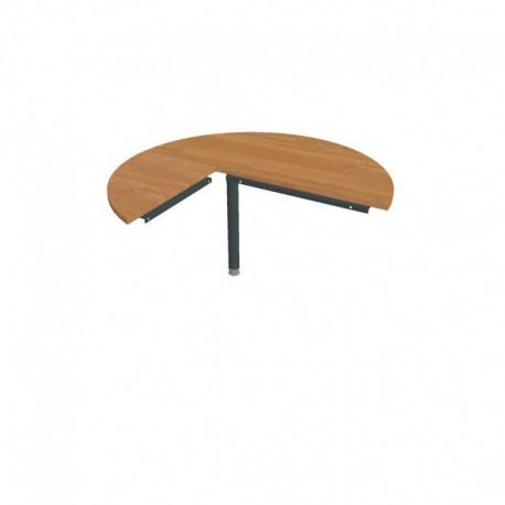 Stůl jednací pravý napříč pr120cm, Hobis Cross (CP 22 P N)