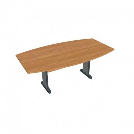 Stůl jednací sud 200cm, Hobis Cross (CJ 200)