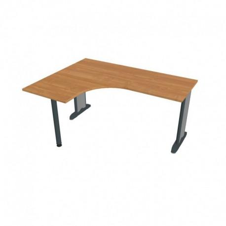 Stůl ergo pravý 160*120cm, Hobis Flex (FE 60 P)