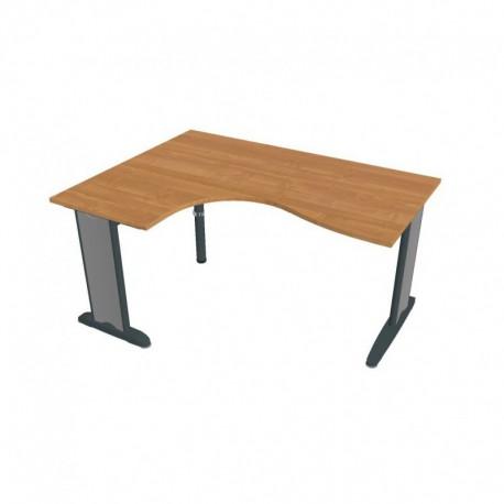 Stůl ergo pravý 160*120cm, Hobis Flex (FE 2005 P)