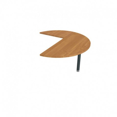 Stůl jednací pravý napříč pr120cm, Hobis Flex (FP 22 P N)