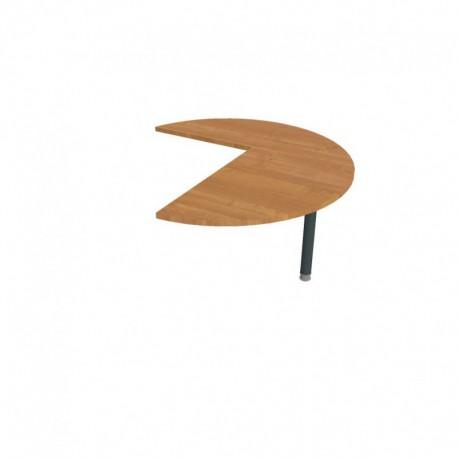Stůl jednací pravý podél pr120cm, Hobis Flex (FP 22 P P)