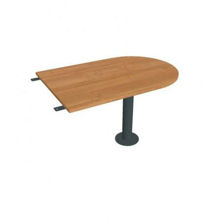 Stůl jednací délky 120 cm ukončený obloukem (FP 1200 3)
