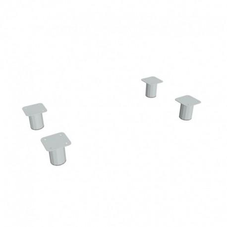 Nohy kovové pro skříně 4ks (NX 400 800)