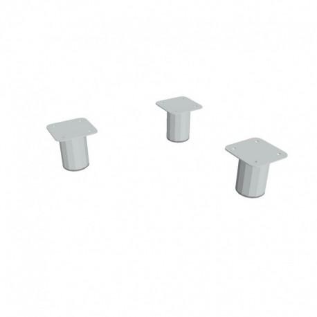Nohy kovové pro skříně 3ks (NX 400 A)
