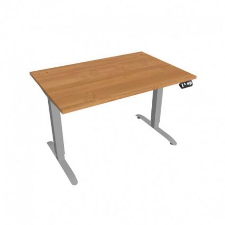 Elektricky výškově stavitelný stůl Hobis Motion  120 cm, s paměťovým ovladačem (MS 2M 1200)