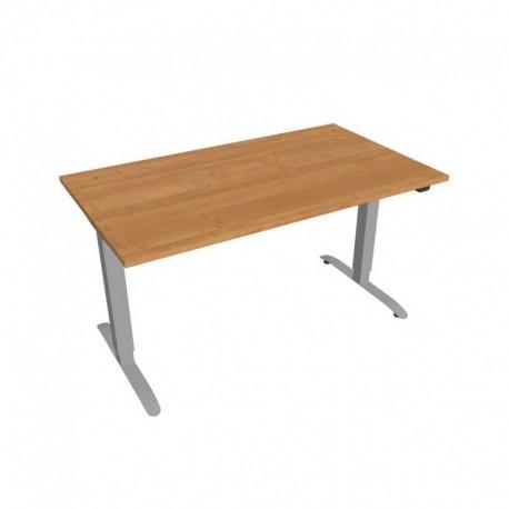 Elektricky výškově stavitelný stůl Hobis Motion  140 cm, se základním ovládáním (MS 2 1400)