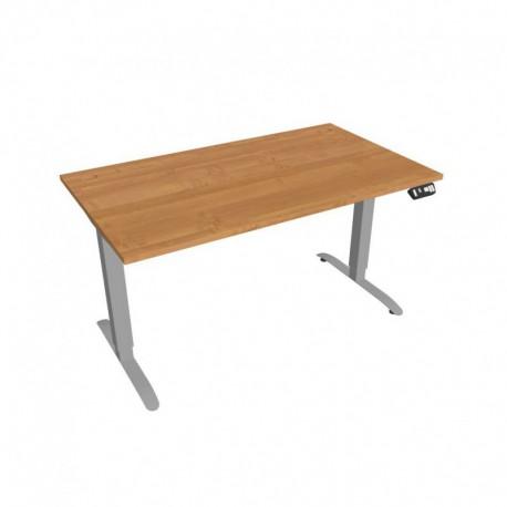 Elektricky výškově stavitelný stůl Hobis Motion  140 cm, s paměťovým ovladačem (MS 2M 1400)