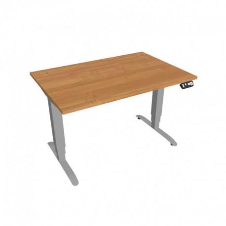 Elektricky výškově stavitelný stůl Hobis Motion  120 cm, s paměťovým ovladačem (MS 3M 1200)