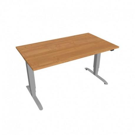 Elektricky výškově stavitelný stůl Hobis Motion  140 cm, se základním ovládáním (MS 3 1400)