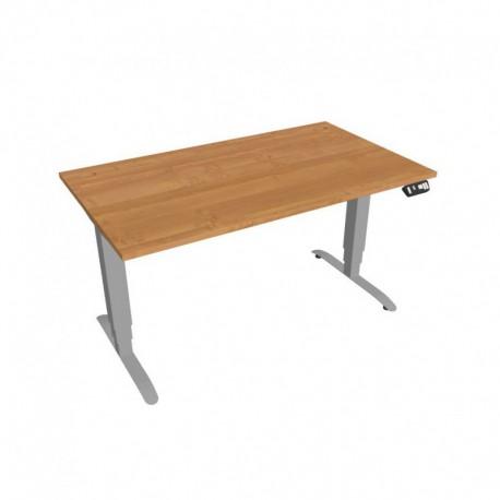 Elektricky výškově stavitelný stůl Hobis Motion  140 cm, s paměťovým ovladačem (MS 3M 1400)