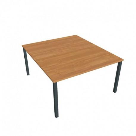 Kancelářský stůl Hobis UNI   zdvojený  140cm (USD 1400)