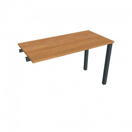 Stůl pracovní délky 120 cm (hl 60 cm) k řetězení (UE 1200 R)