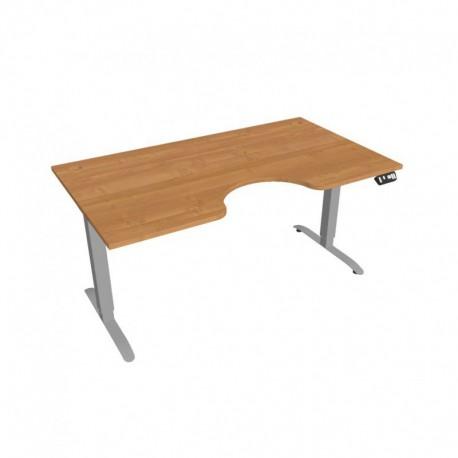 Elektricky výškově stavitelný stůl Hobis Motion  160 cm, s paměťovým ovladačem (MSE 2M 1600)