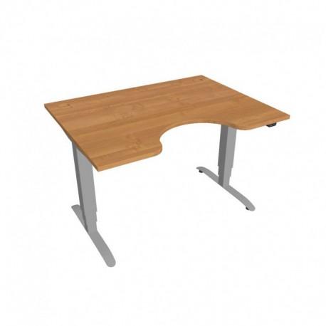Elektricky výškově stavitelný stůl Hobis Motion ERGO  120 cm, se základním ovládáním (MSE 3 1200)