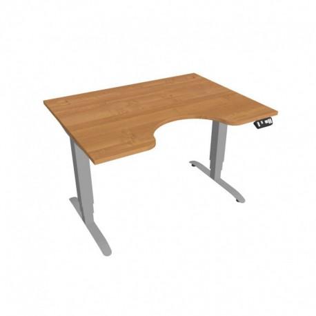 Elektricky výškově stavitelný stůl Hobis Motion  120 cm, s paměťovým ovladačem (MSE 3M 1200)