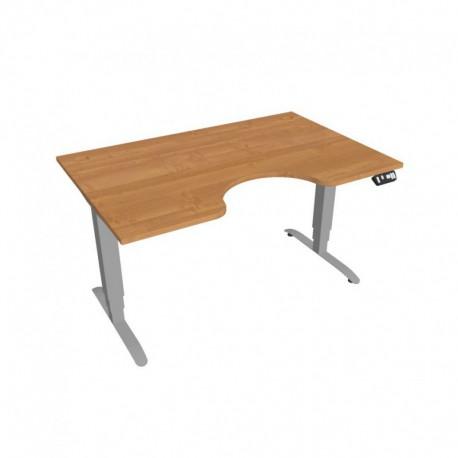 Elektricky výškově stavitelný stůl Hobis Motion  140 cm, s paměťovým ovladačem (MSE 3M 1400)