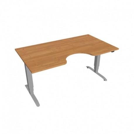 Elektricky výškově stavitelný stůl Hobis Motion ERGO  160 cm, se základním ovládáním (MSE 3 1600)