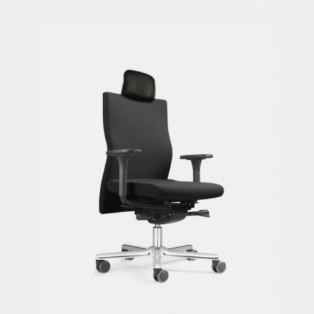 Zdravotní balanční židle s vypínatelným systémem ERGO TOP s multifunkčním podhlavníkem (LEZGO LG 73 + MFK)