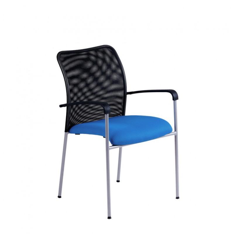 Jednací židle, NET, vínová (TRITON NET)