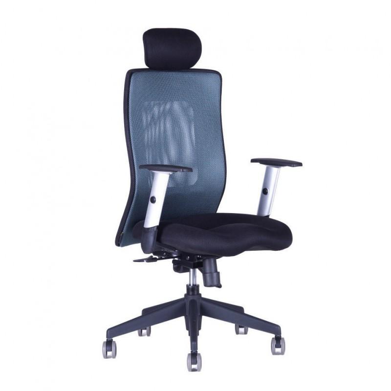 Kancelářská židle, 14A11, modrá (CALYPSO XL SP4)