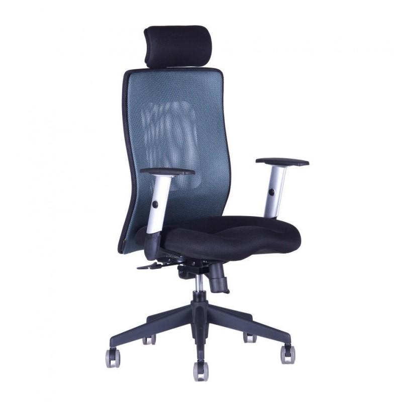 Kancelářská židle, 14A11, modrá (CALYPSO XL SP1)
