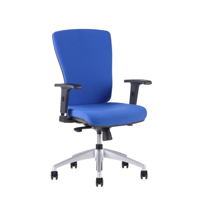 Kancelářská židle, 2621, modrá (HALIA BP)