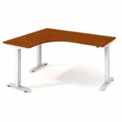 Ergo elektr. stav. stůl 160x120 cm, pravý, stand. ovlad. (MST 2 60 P)