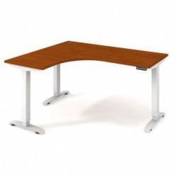 Ergo elektr. stav. stůl 160x120 cm, pravý, paměť. ovlad. (MST 2M 60 P)