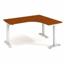 Ergo elektr. stav. stůl 160x120 cm, levý, stand. ovlad. (MST 2 60 L)