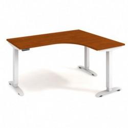 Ergo elektr. stav. stůl 160x120 cm, levý, paměť. ovlad. (MST 2M 60 L)