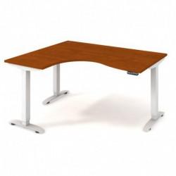 Ergo elektr. stav. stůl 160x120 cm, pravý, paměť. ovlad. (MST 2M 2005 P)