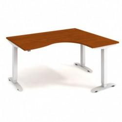 Ergo elektr. stav. stůl 160x120 cm, levý, stand. ovlad. (MST 2 2005 L)