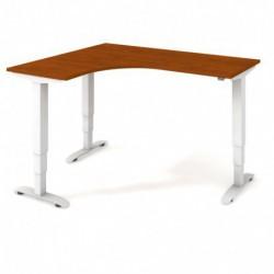 Ergo elektr. stav. stůl 160x120 cm, pravý, stand. ovlad. (MST 3 60 P)