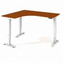 Ergo elektr. stav. stůl 160x120 cm, pravý, paměť. ovlad. (MST 3M 60 P)