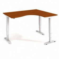 Ergo elektr. stav. stůl 160x120 cm, levý, stand. ovlad. (MST 3 2005 L)