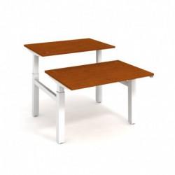 Elektricky stav. stůl DUAL délky 120 cm, stand. ovlad. (MSD 2 1200)