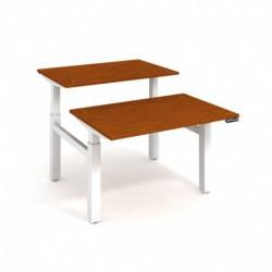 Elektricky stav. stůl DUAL délky 120 cm, paměť. ovlad. (MSD 2M 1200)