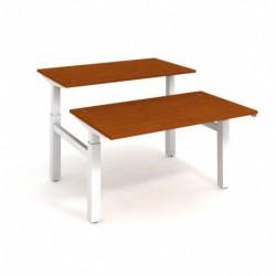 Elektricky stav. stůl DUAL délky 140 cm, stand. ovlad. (MSD 2 1400)