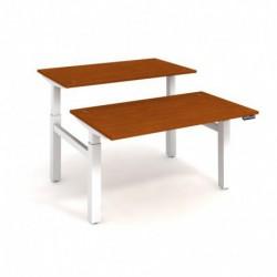 Elektricky stav. stůl DUAL délky 140 cm, paměť. ovlad. (MSD 2M 1400)