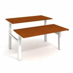 Elektricky stav. stůl DUAL délky 160 cm, stand. ovlad. (MSD 2 1600)