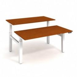 Elektricky stav. stůl DUAL délky 160 cm, paměť. ovlad. (MSD 2M 1600)