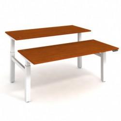 Elektricky stav. stůl DUAL délky 180 cm, paměť. ovlad. (MSD 2M 1800)