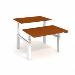 Elektricky stav. stůl DUAL délky 120 cm, paměť. ovlad. (MSD 3M 1200)