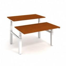 Elektricky stav. stůl DUAL délky 140 cm, stand. ovlad. (MSD 3 1400)