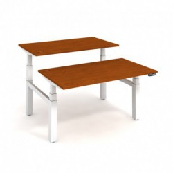 Elektricky stav. stůl DUAL délky 140 cm, paměť. ovlad. (MSD 3M 1400)