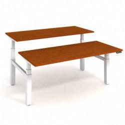 Elektricky stav. stůl DUAL délky 180 cm, paměť. ovlad. (MSD 3M 1800)