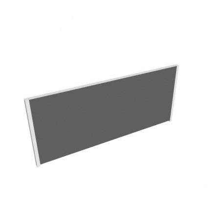 Akustik paravan pro stůl DUAL 2 seg. délky 160 cm (MSD TPA 2 1600)