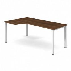 Stůl ergo 180x120 cm, pravý (UE 1800 60 P)
