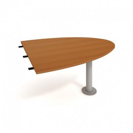 Stůl jednací elipsa 150cm Hobis Gate (GP 1500 2)